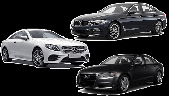 Mercedes Benz (E Class) / BMW 5 Series / Audi