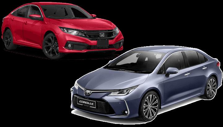 Toyota Corolla Altis / Honda Civic